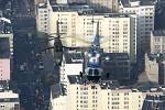 Mi-24 over Warsaw