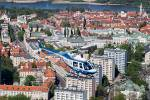 Polish Police Aviation - air to air in Warszawa Part 2